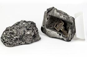 Stein mit Geheimfach