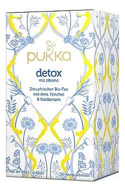 2er Pack Pukka Detox mit Zitrone Bio-Tee