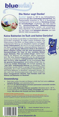 BlueWish 2x Reinigungstücher mit Silberionen_small01