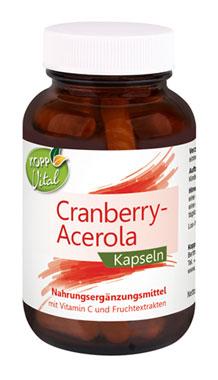 Kopp Vital Cranberry-Acerola Kapseln - vegan