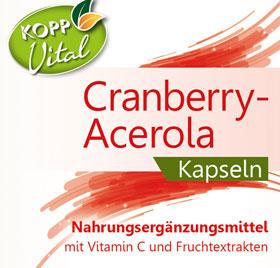 Kopp Vital Cranberry-Acerola Kapseln_small01