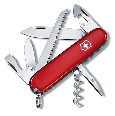 Victorinox Offiziersmesser Camper, rot_small