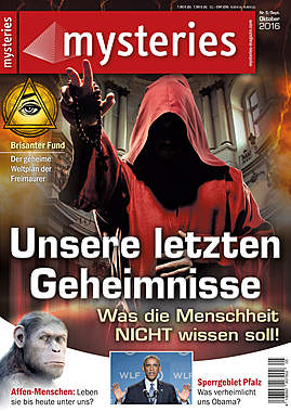 mysteries - Ausgabe September/Oktober 2016