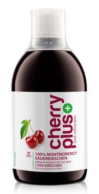CherryPlus - 100 % Montmorency Sauerkirschen Konzentrat 500ml