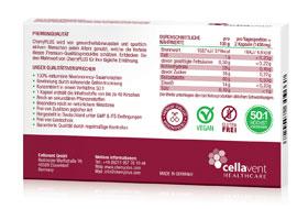 CherryPlus - 100% Montmorency Sauerkirschen Kapseln 600mg - 60 Kapseln_small01