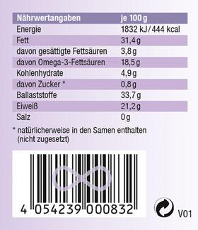 Kopp Vital Bio Chia-Samen im Bügelglas - vegan_small02