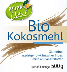 Kopp Vital Bio-Kokosmehl im Bügelglas - vegan_small01