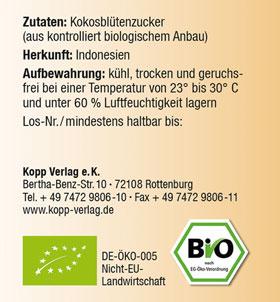 Kopp Vital Bio Kokosblütenzucker im Bügelglas - vegan_small03