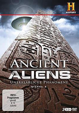 Ancient Aliens - Unerklärliche Phänomene Staffel 5_small