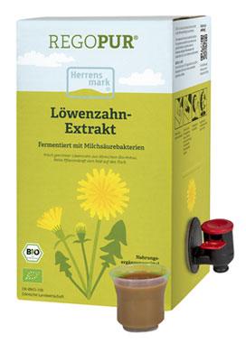 Herrensmark Löwenzahn-Extrakt mit Milchsäurebakterien - vegan