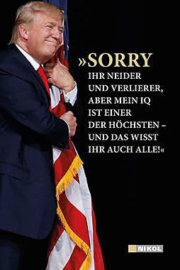 »Sorry ihr Neider und Verlierer...«