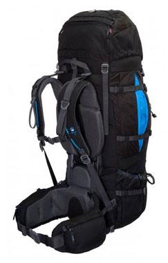 Tashev XXL Trekkingrucksack 100L + 20L Mount S+ Cordura® - schwarz/blau_small01