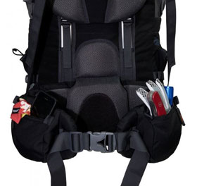 Tashev XXL Trekkingrucksack 100L + 20L Mount S+ Cordura® - schwarz/blau_small02