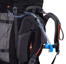 Tashev XXL Trekkingrucksack 100L + 20L Mount S+ Cordura® - schwarz/blau_small04