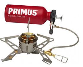 Primus OmniFuel II Mehrstoffkocher mit Brennstoffflasche