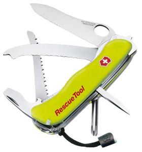 Victorinox Rescue Tool - gelb nachleuchtend