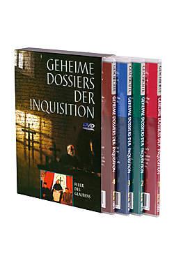 Geheime Dossiers der Inquisition Teil 1-4 im Schuber