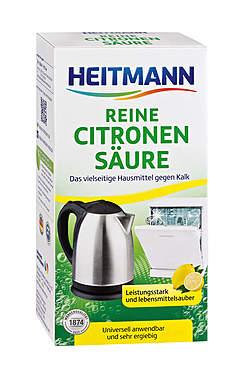 3er Pack Heitmann Reine Citronensäure - 375g