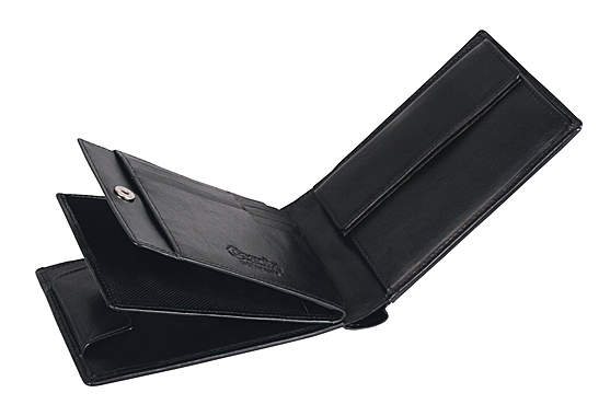 Esquire RFID Herren-Geldbörse - Querformat 12,5×10cm