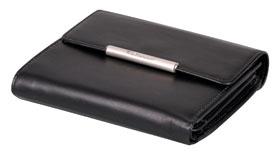 Esquire RFID Damen-Geldbörse - schwarz 12×11cm_small01