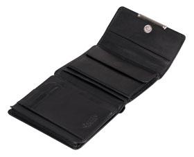 Esquire RFID Damen-Geldbörse - schwarz 12×11cm_small02