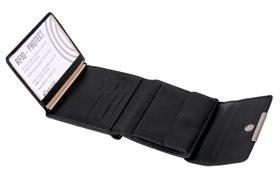 Esquire RFID Damen-Geldbörse - schwarz 12×11cm_small03