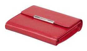 Esquire RFID Damen-Geldbörse - rot 12×11cm_small01
