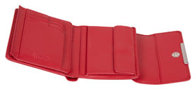 Esquire RFID Damen-Geldbörse - rot 12×11cm_small02