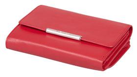 Esquire RFID Damen-Geldbörse - rot 14×10,5cm_small01