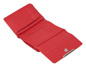 Esquire RFID Damen-Geldbörse - rot 14×10,5cm_small02