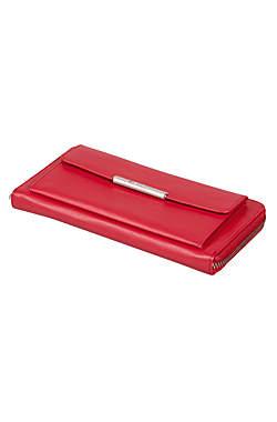 Esquire RFID Damen-Geldbörse - rot 19×10cm_small02