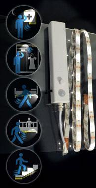 X4-Life LED Band mit Bewegungsmelder - 1 Meter
