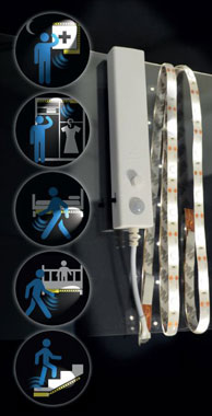 X4-Life LED Band mit Bewegungsmelder - 1 Meter_small