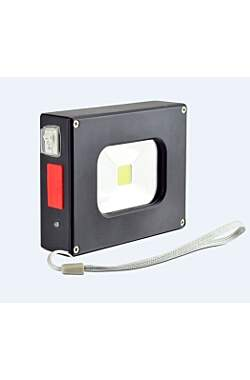 X4-Life Mini-Flutlicht 10W mit Powerbank 4000mAh