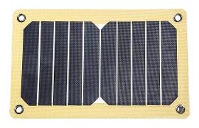 12 Survivors® SolarFlare 5 mit 5,3 Watt - Solarpanel