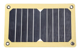 12 Survivors® SolarFlare 5 mit 5,3 Watt - Solarpanel_small