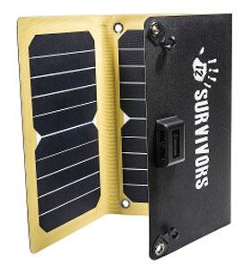 12 Survivors® SolarFlare 16 mit 15,9 Watt - Solarpanel_small01
