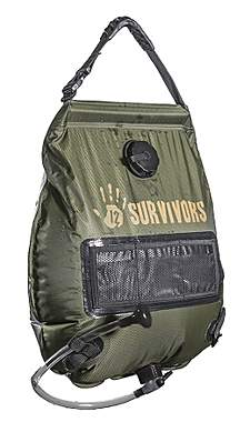12 Survivors® 5-Gallon Solar Dusche