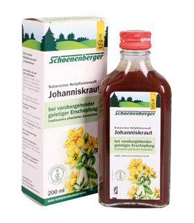 Schoenenberger Johanniskraut Naturreiner Heilpflanzensaft