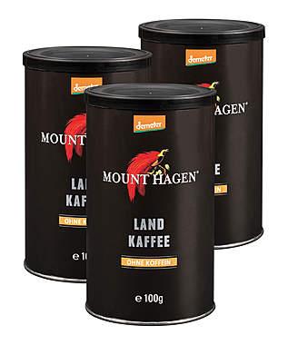 3er Pack Mount Hagen Demeter Landkaffee, je Dose 100g_small