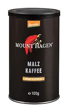 3er Pack Mount Hagen Demeter Malzkaffee je Dose 100g