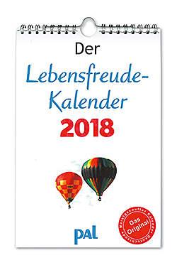 Der Lebensfreude-Kalender 2018