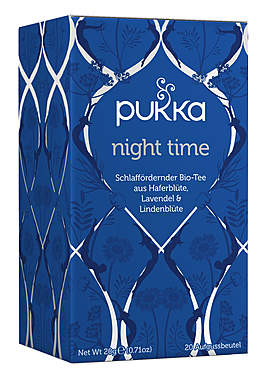 3er-Pack Pukka Night Time Bio-Tee