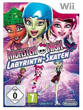 Monster High: Labyrinth-Skaten für Nintendo Wii