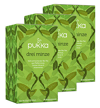 3er-Pack Pukka Drei Minze Tee_small