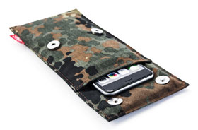 Der STALIN PhoneBAG Anti Spionage Tasche Camouflage klein Made in Germany_small01