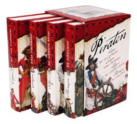Piraten - Die großen Romane 4 Bände