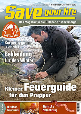 Save your life Ausgabe Nov./Dez. 2017