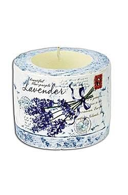 Teelichthalter 'Lavendel'