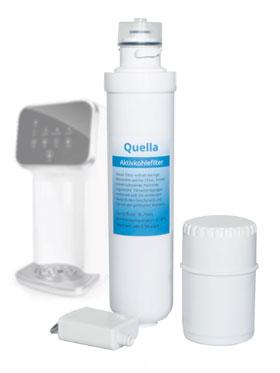 Ersatz - Filterset Quella für Quella noVa